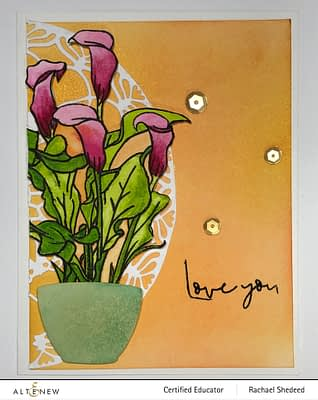 Calla Lily- Paint a Flower