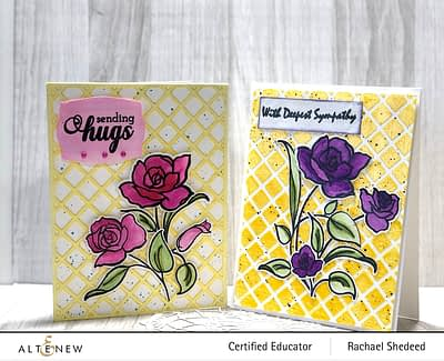 Floral with Geometric Elements Blog Hop