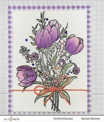Tulips-December Paint-a-Flower Giveaway Winner