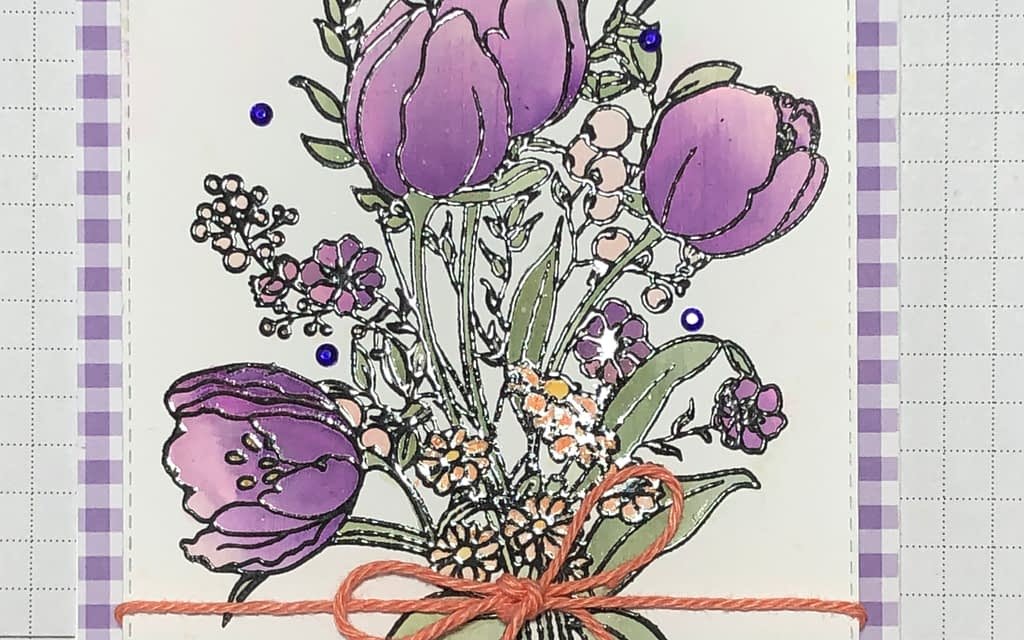 Tulips-December Paint-a-Flower Giveaway Winner