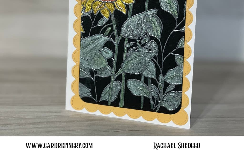 Sunflowers for Sunday Stamps Challenge