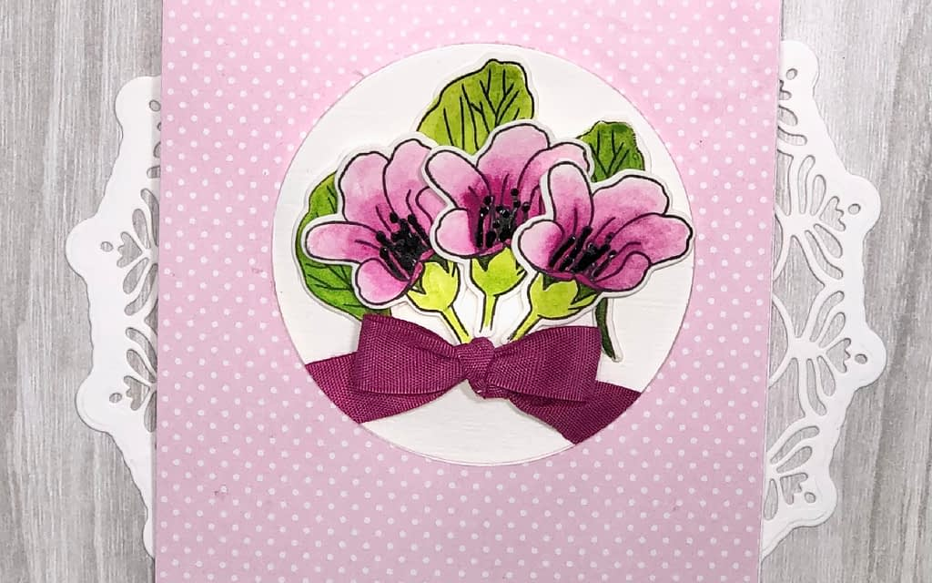 Begenia Builder Pop Up Card