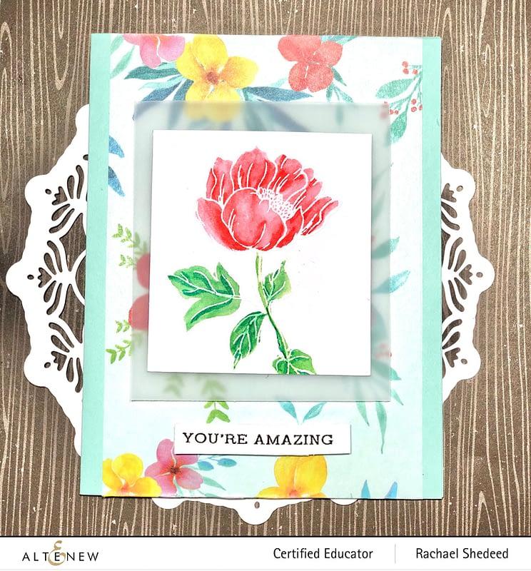 Altenew-Floral-Flurries-Wild-Flora-Stamp-Set 3
