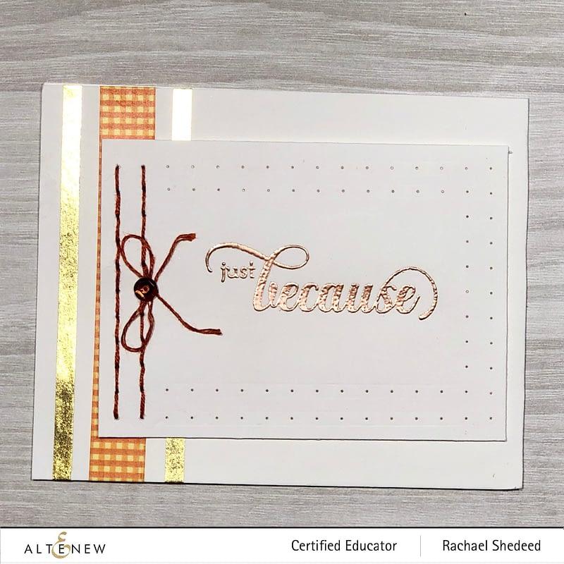 String Art Rectangles, Fancy Greetings TMS #577